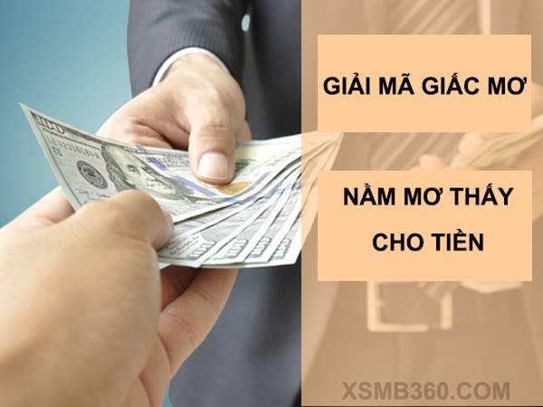 Giải mã giấc mơ thấy cho tiền là điềm báo gì