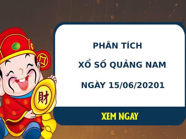 Phân tích xổ số Quảng Nam 15/6/2021 hôm nay thứ 3 chính xác